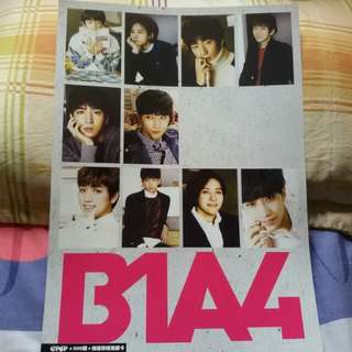 B1A4 Poster