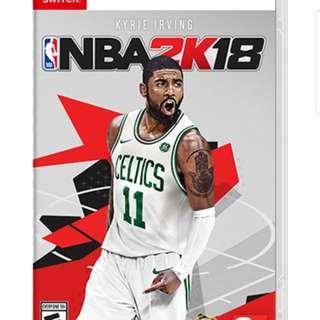Nintendo Switch NBA2K18