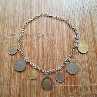 意大利錢幣頸鏈