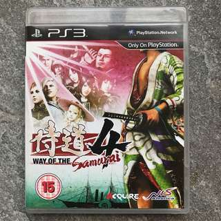 PS3 Way of the Samurai