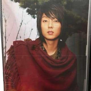 日本雜誌附錄 A3海報 李準基 Lee joon gi