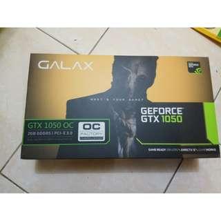 VGA GALAX GTX 1050TI OC