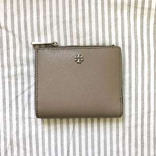 TORY BURCH Mini Robinson Leather Wallet