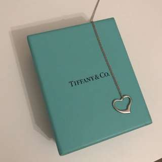 Tiffany & Co Heart Necklace (Stirling silver)