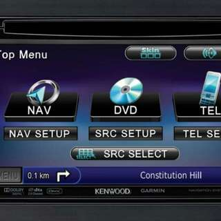 Kenwood Touch Screen Car Audio Player