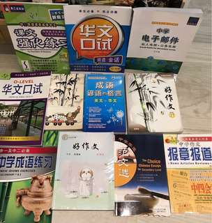 11 Secondary o level Chinese book + free books