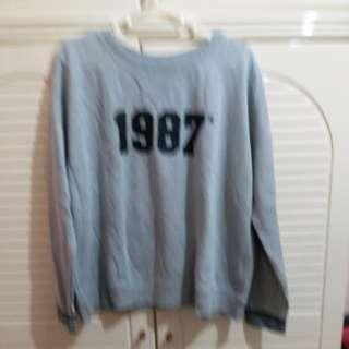 全新 女裝 灰色上衣 衫長22寸 闊22.5寸 䄂長17.5寸  中碼 size M