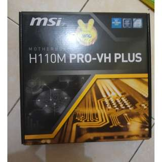 Mother Board MSI H110M PRO-VH PLUS