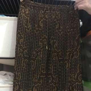 Skirt Motif Abstract