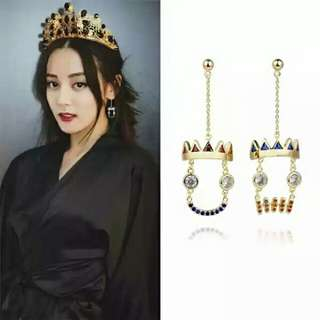Dolce and Gabbana inspired earing