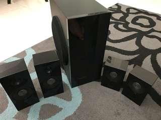 Samsung Speakers & Woofer set