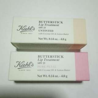 BN Kiehl Butterstick Lip Treatment SPF25 (Untinted Or Pure Petal)