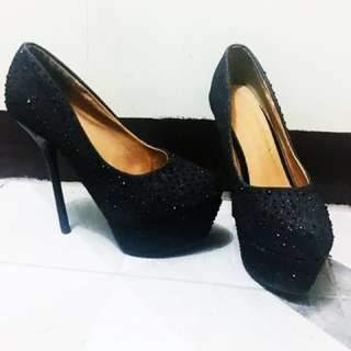 Reprice Black Diamond Stilettos