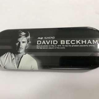 David Beckham Tin Case