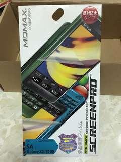 全新 Momax screen protector 磨砂 保護貼 for Samsung galaxy s2
