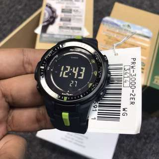 100% Authentic Pro Trek Watch Multi Sensor FREE DELIVERY PROTREK sports