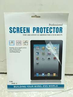 全新 screen protector 保護貼 for apple ipad 2