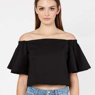 Black Off Shoulder Top (Fashion Vallet inspired)