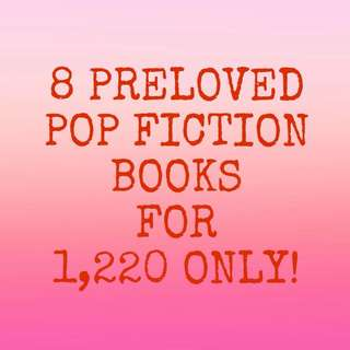 8 POP FICTION WATTPAD BOOKS