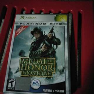 Xbox medal of honour frontline
