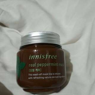 (PRELOVED) Innisfree real peppermint mask