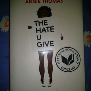 The Hate U Give - Angie Thomas (price is negotiable)