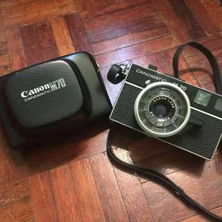 Canomatic M70 (selling as collector's item)