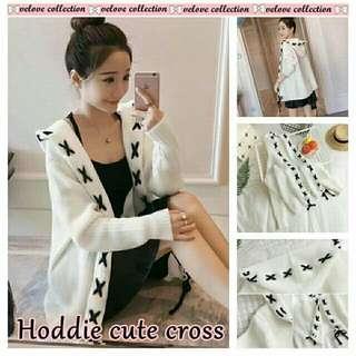 Cardigan Hodie Cute Cross