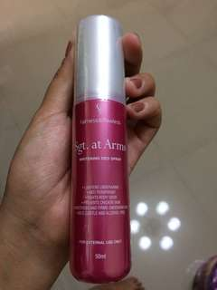 Sgt. at Arms Deo Spray
