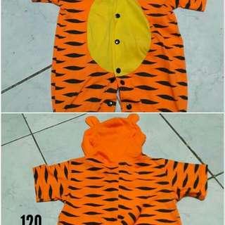 Tiger onesie costume