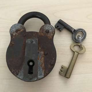 Antique lock - over 40 years old