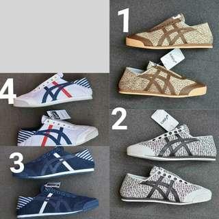 Sepatu asic tiger onitsuka cowok sz 40-43