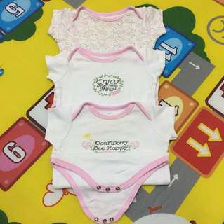 All 3 Luvable Romper 6m