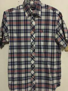 Fred Perry shirt LS - Size S