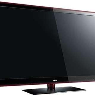 LG 55 inch 55LE5500-TA LED TV (NOT WORKING) For Sale - Good for Spare Parts.