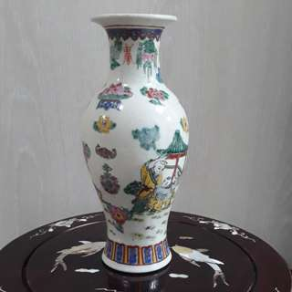 Old Porcelain Vase