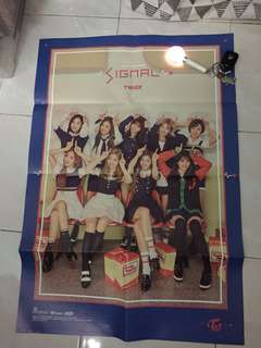 twice signal poster (official) [folded]
