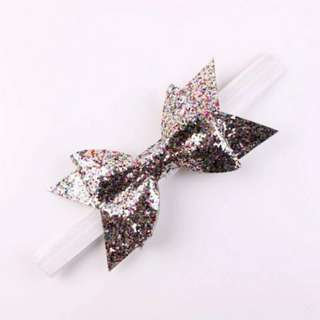 Baby Girl/Toddler Glitter Bow Headband