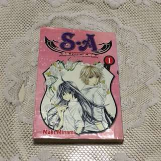 SPECIAL A BOOK ONE MANGA