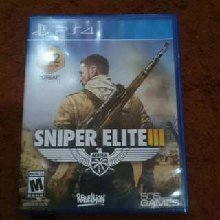 Sniper Elite III PS4 Game