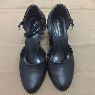 Heels Black - #38
