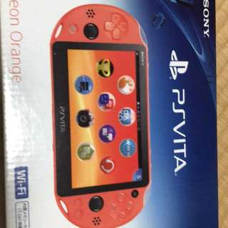 PS Vita Neon Orange