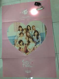 twice signal poster official [folded]