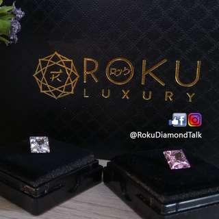 Roku Diamond - Princess Cut