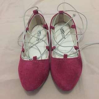 Flatshoes Maroon - #38