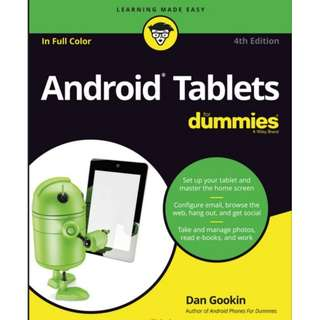 Ebook Android® Tablets For Dummies®, 4th Edition