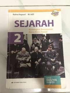 SEJARAH ERLANGGA XI SMA