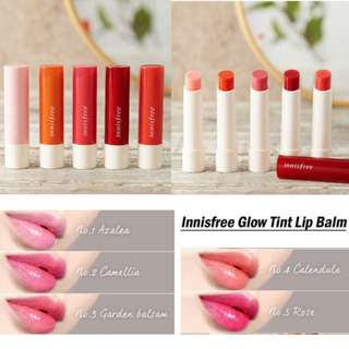 💰27% OFF Great Deal💰Innisfree Glow Tint Lip Balm 3.5g (UP: $11.00)