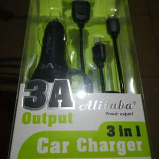 Bnew Car Charger 3in1