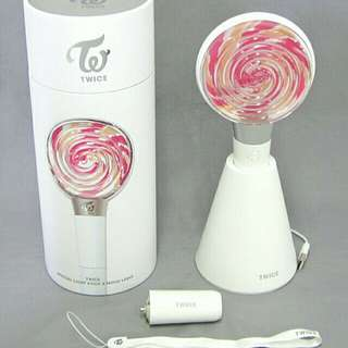[Free pos]Twice candy bong(Lightstick)
